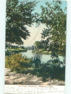 Pre-1907 NATURE SCENE Attleboro Massachusetts MA AD8556