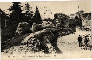 CPA  Nice - Cimier - Intérieur des Arénes Romaines    (203195)