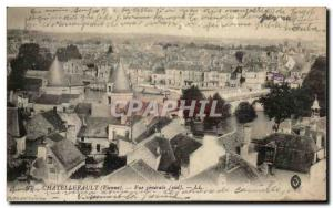 Old Postcard Chatellerault General view