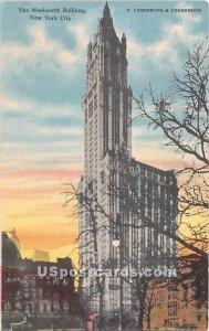 Woolworth Building, New York City, New York