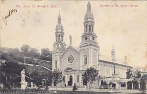 Exterior of St. Ann's Church, Quebec, Canada, PU-1905