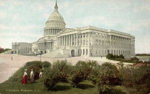 DC - Washington. U.S. Capitol