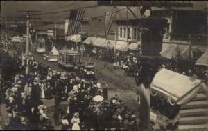 Hamilton Montana MT Street Scene Parade c1910 Real Photo Postcard