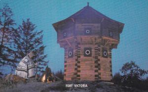 Fort Victoria,  Island Highway 1A., Victoria,  B.C.,  Canada,  40-60s