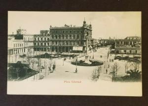 MInt Montevideo Uruguay Plaza Libertad Freedom Plaza Real Photo Postcard