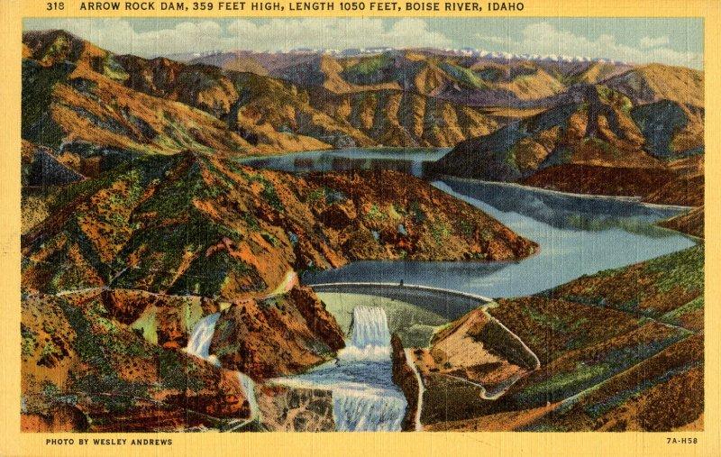 ID - Arrow Rock Dam, Boise River