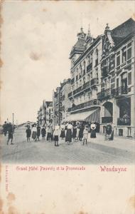 WENDUYNE - Grand Hotel Pauwels et la Promenade , Beligium , PU-1910