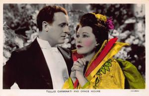 Tullio Carminati and Grace Moore Columbia Postcard
