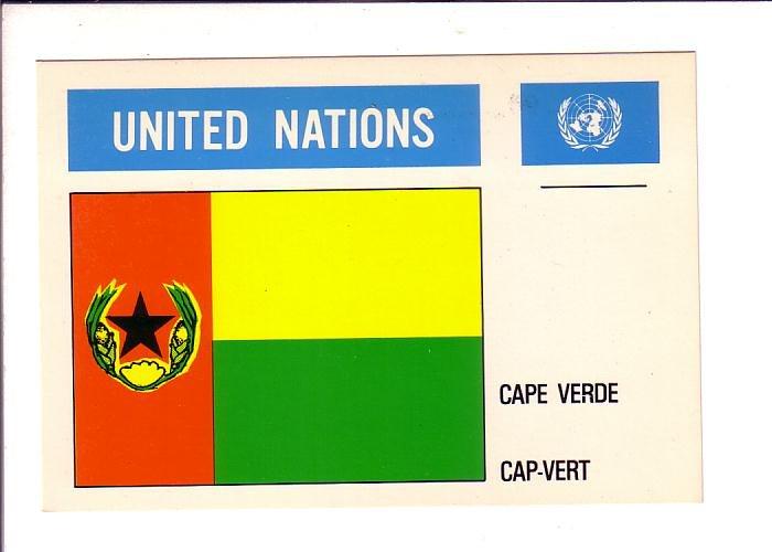 Cape Verde, Flag, United Nations