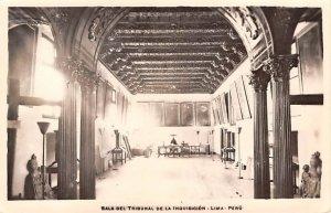Sala Del Tribunal de la Inquisicion Lima, Peru Peru Unused