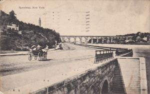 NEW YORK, PU-1909; Speedway, Horse Carriages