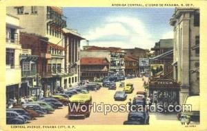 Panama Panama City Central Ave