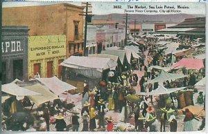 VINTAGE POSTCARD: MEXICO - San Luis Potosí 1910
