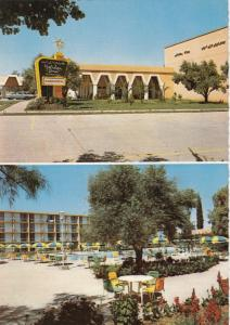 MARRAKECH , Morocco , 1980s; Holiday Inn, Swimming Pool