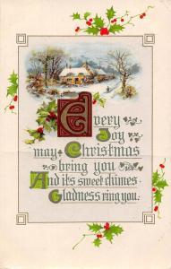 Every Joy may Christmas Mistletoes, Winter, Holiday Greetings