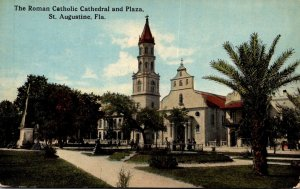 Florida St Augustine Roman Catholic Church and Plaza Curteich