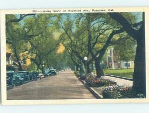 Unused Linen STREET SCENE Pasadena - Los Angeles California CA W1426