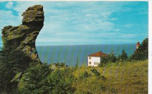 Canada Famous Rock At Cap Chat Gaspe Nord Quebec
