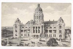 Town Hall, Durban, South Africa, 1900-1910s