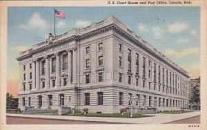U.S. Court House and Post Office, LINCOLN, Nebraska, 30-40's