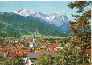 Germany, Garmisch-Partenkirchen, Alpspitze – Hollental, unused Postcard