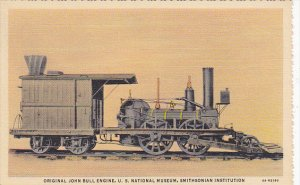 Original John Bull Engine National Museum Smithsonian Institution Curteich