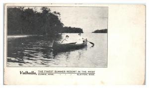1910 Valhalla Summer Resort Currie, MN and Slayton, MN Postcard *5E4