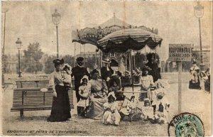 CPA Paris - Exposition et Fétes de l'Enfance 1905 (80684)