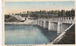 Bridge & Locks , Delta Dam , ROME , New York , 1910s
