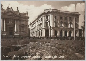 44193   CARTOLINA d'Epoca - CATANIA Città - ANFITEATRO ROMANO 1943