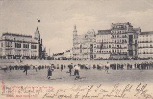 OSTENDE, West Flanders, Belgium, PU-1919; Une Partie De Foot Ball