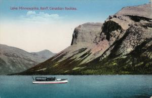 Lake Minnewanka, BANFF (Alberta), Canada, 1900-1910s