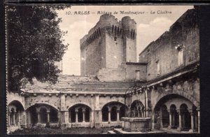 Abbaye de Montmajour,Le Cloitre,Arles France BIN