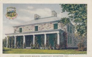 JAMESTOWN , Virginia, 1907 Exposition ; Ohio State Building