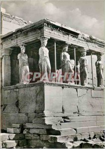 Modern Postcard The South Hall of Athens Erechtheion The Coryatides