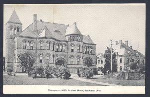 Ohio Soldiers Home HQ Sandusky OH unused pre1907