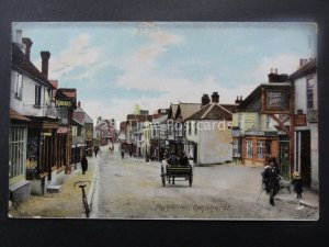 Hampshire LYNDHURST High Street THE FOX & HOUND HOTEL c1906 by The Wrench 14057