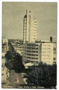 Aerial,Rosario,Paseo Orono y Calle Cordoba,1900-10s
