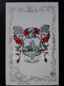 c1906 - PEEL - I.O.M. - Heraldic Coat of Arms