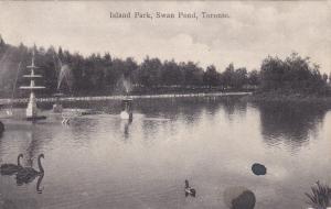 Island Park, Swan Pond, TORONTO, Ontario, Canada, PU-1908