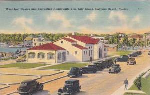 Florida Daytona Beach Municipal Casino And Recreaters On City Island