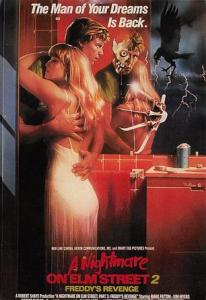 A Nightmare on Elm Street 2 Movie Poster Postcard