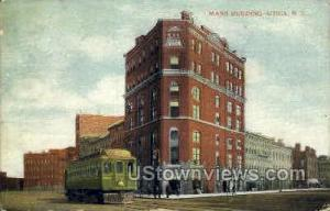 Mann Building Utica NY Unused