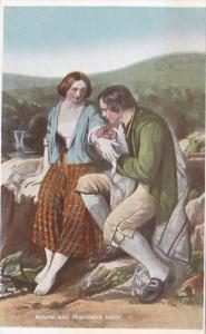 Romantic Couple Burns and Highland Mary
