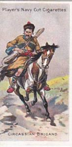 Player Vintage Cigarette Card Riders Of The World 1905 No 23 Circassian Brigand