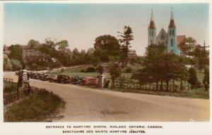 RP: MIDLAND , Ontario , Canada ,  20-40s;  Entrance to Martyr's Shrine