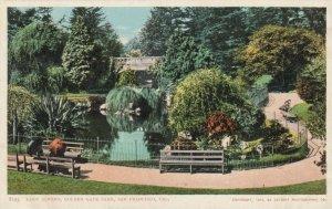 San Francisco , California , 1901-07 ; Lake Alvord , Golden State Park