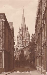 England Oxford St Mary's Cathedral Photo
