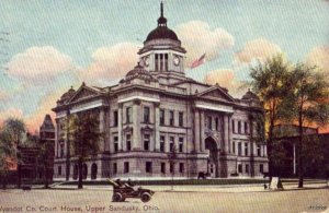 WYANDOT COURT HOUSE UPPER SANDUSKY, OH 1909