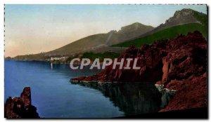 Modern Postcard Route De La Corniche D & # 39Or The Rocks From Trayas